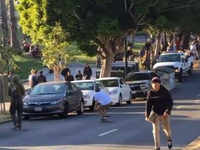 US: Skateboarder, cop hurt in collision in San Francisco