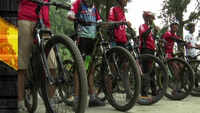 Shimla: 30 young guns participate in off-road hill bicycle race