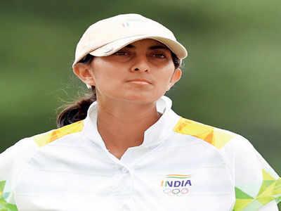 India hails Aditi's stellar performance