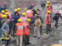 Four-storey building collapses in Gurugram, several trapped