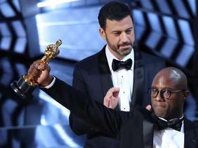 Oscars 2017: Jimmy Kimmel, Gael Garcia Bernal, Asghar Farhadi, Barry Jenkins mark their protest against Donald Trump