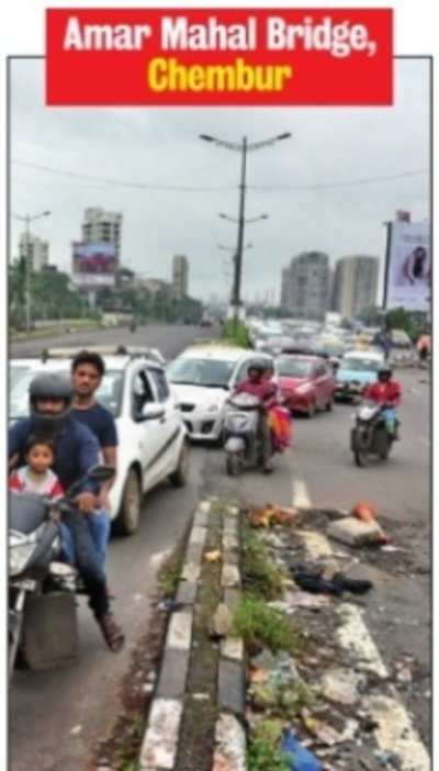 Mumbai traffic police works overtime to make accident spots safer