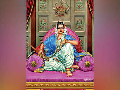 First woman chief of Maratha army comes alive in an original portrait