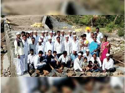 Maharashtra: Khandgedara villagers build 100-feet bridge without government's support