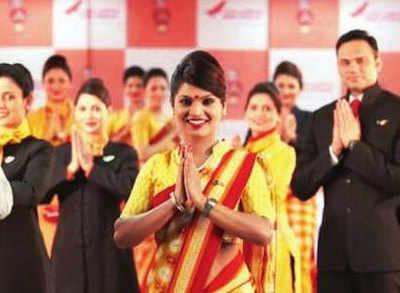 Flying Air India? Your economy class crew may be on punishment duty