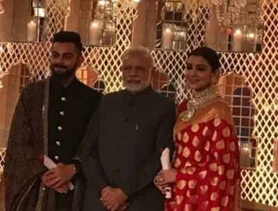 Virushka reception: Prime Minister Narendra Modi gives special gift to Virat Kohli and Anushka Sharma
