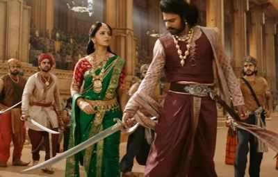 Baahubali 2 - The Conclusion: Prabhas and Rana Daggubati give a sneak peek of an epic battle