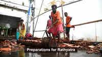 Puri: Preparations for Rathyatra in full swing