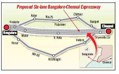 Land aquisition work begins for 120 km/h city-Chennai drive in 3 hours