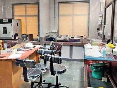 Gujarat test-ready but  delay in Central nod leaves 4 labs wasted
