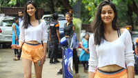 Ananya Panday and Kartik Aaryan rock the athleisure look post dance rehearsals
