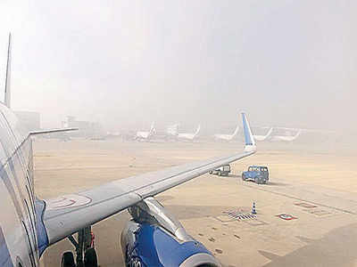 Kempegowda International Airport can deal with dense fog only after February