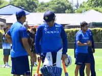 India vs New Zealand: Team India practices ahead of ODI series