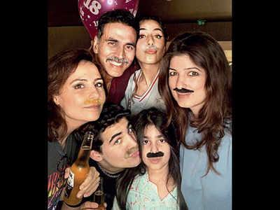 Akshay Kumar and Twinkle Khanna celebrate son Aarav's 18th birthday