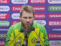 Warner says wife is 'my rock' after World Cup hundred