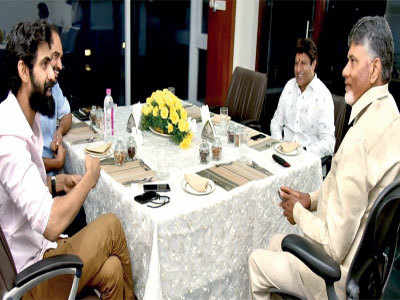 Rana Daggubati meets Chandrababu Naidu as prep for NTR biopic