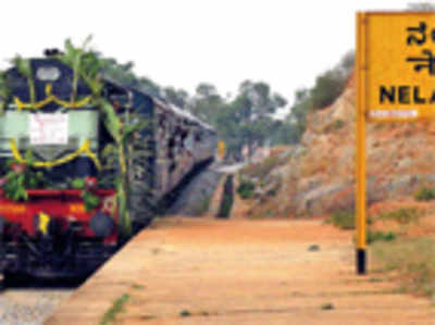 Nelamangala journey gets comfy with morning train