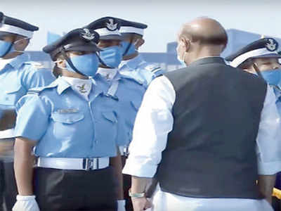 Sky's the limit for Flying Officer Garima Abrol