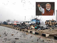 Sacrifices of our security personnel won't go in vain, says PM Narendra Modi on Pulwama attack