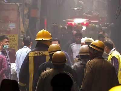 Anaj Mandi fire: Delhi cops arrest building owner and his manager