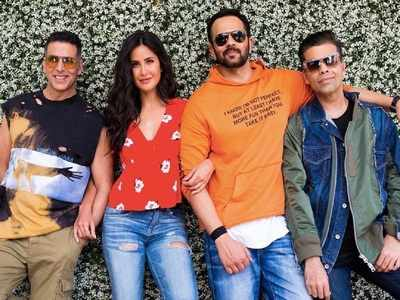 Katrina Kaif shoots for Sooryavanshi, introduces co-star Akshay Kumar's character
