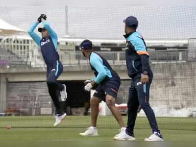WTC final: Team India begins group training