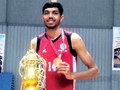 Farmer's son from Vadodara village makes it to national basketball team