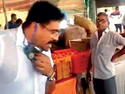 BJP MLA spits in government-run kitchen for poor in Rajkot