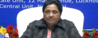 BSP supremo Mayawati holds press conference in Lucknow on 63rd birthday