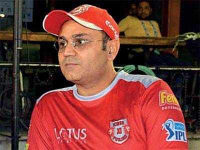 Kings XI Punjab part ways with Virender Sehwag