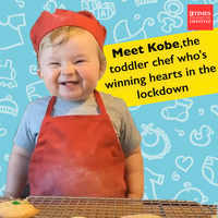 Meet Kobe, the toddler chef who's winning hearts in the internet