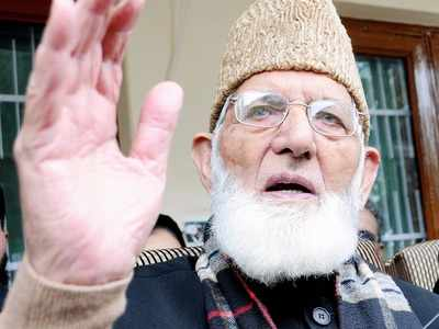 Separatist leader Syed Ali Shah Geelani quits Hurriyat Conference