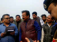 Rajasthan minister inspects Rahul Gandhi's rally venue in Jaipur