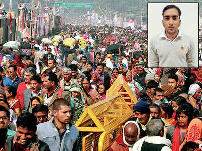 Absconding IRS officer went to Kumbh Mela