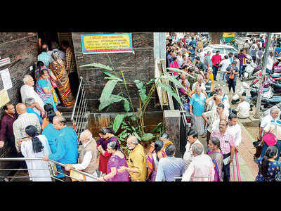 Day after RBI caps withdrawal limit, panicking depositors line up at bank
