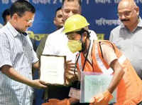 Delhi: DJB to distribute free safety kits to sewer workers