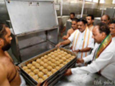 Tirupati laddus will no longer use K'taka ghee