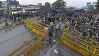Farmers' protest: Intense drama at Delhi-Haryana border