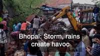Bhopal: Storm and rains create havoc, 2 killed, 3 injured