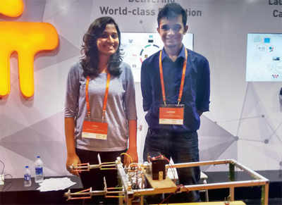 Manipal University students develop power-assisted hospital stretcher