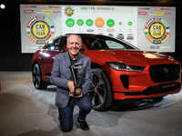 Electric Jaguar wins car of the year in Europe