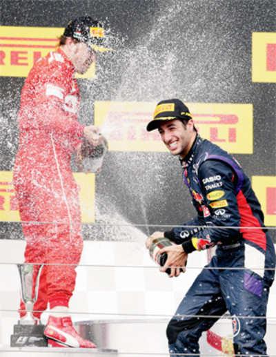Daniel sizzles in rain
