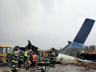 'Weeping' pilot caused Nepal plane crash