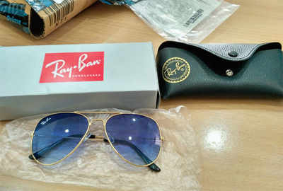 Post-portal blues: Man orders Ray-Ban online, says it is fake
