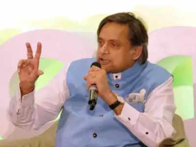 Shashi Tharoor tweets Sumitra Mahajan passes away; BJP says former LS speaker 'absolutely fine'