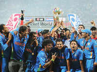 When India beat Sri Lanka to win Cricket World Cup title