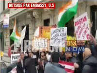 Protest held against Pulwama terror attack outside Pak embassy in New York