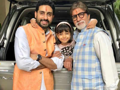 Aaradhya Bachchan celebrates 7th birthday: Grandpa Amitabh Bachchan, dad Abhishek Bachchan post emotional messages on social media