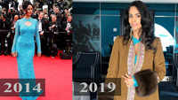 Did Mallika Sherawat repeat her outfit at Cannes 2019?