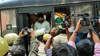 Bengaluru: Police arrest protesting state transport employees